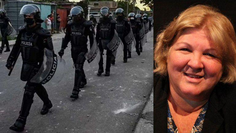 Hija del Che Guevara pide más represión