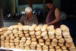 harina de maiz, calabaza y yuca, los ingredientes que usa el gobierno para aumentar la produccion de pan
