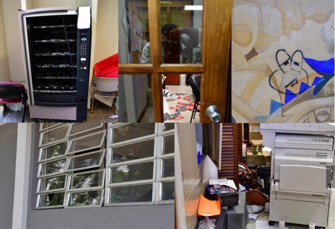 Revelan daños en UPR Río Piedras tras la huelga