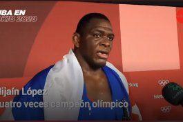 mijain lopez le dedica al dictador fidel castro su cuarta medalla olimpica