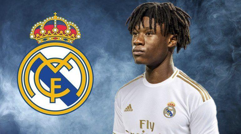 Real Madrid ficha al volante francés Eduardo Camavinga