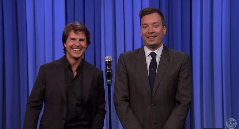 El desopilante duelo entre Tom Cruise y Jimmy Fallon