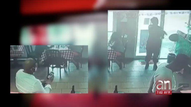 El propietario de un restaurante en el noroeste de Miami-Dade evitó una masacre y todo quedó captado en cámara