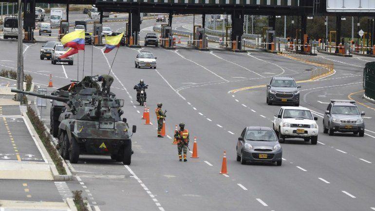 Reportaron ataques armados de civiles contra manifestantes en Colombia