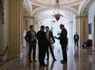 democratas en senado cierran acuerdo de ayudas al desempleo