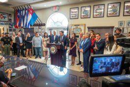Líderes republicanos enviaron un fuerte mensaje al presidente Biden en relación con Cuba. EFE