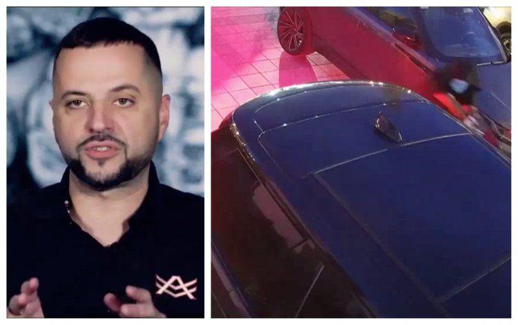 FUERTES IMAGENES: balean en la puerta de su casa a Cubano-Americano, Alex Vega