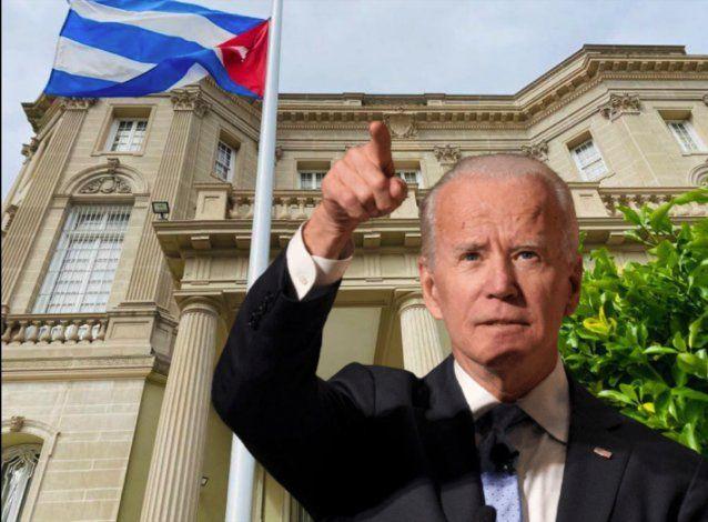 Biden condena la represión en Cuba y advierte: Este es sólo el inicio