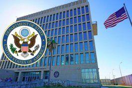 embajada de estados unidos en cuba anuncia que se consideran fuertes sanciones al regimen cubano por la  brutal represion