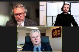 embajador viera-blanco se reune con embajadores de tanzania, eslovaquia, lituania, latvia y australia en canada