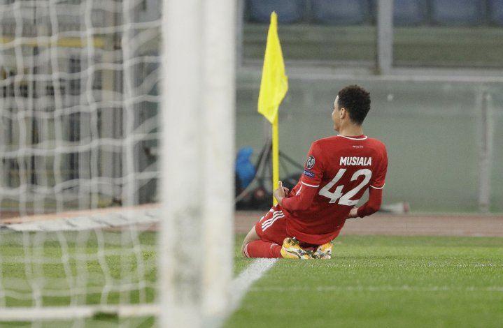 Bayern propina paliza en su visita a Lazio