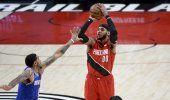 Lillard lidera a los descansados Trail Blazers ante Knicks