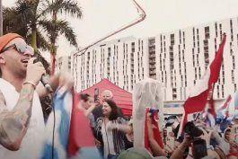 lenier estrena el tema #soscuba en apoyo al pueblo cubano