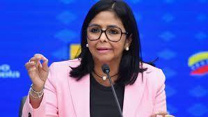 delcy rodriguez acusa a blinken de viajar a colombia para planificar ataques contra venezuela