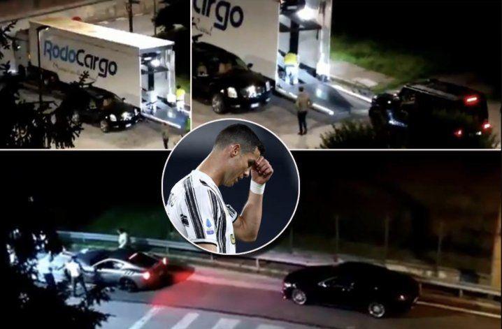 ¡Cristiano Ronaldo se lleva sus autos de Turín! ¿Se va de la Juventus?
