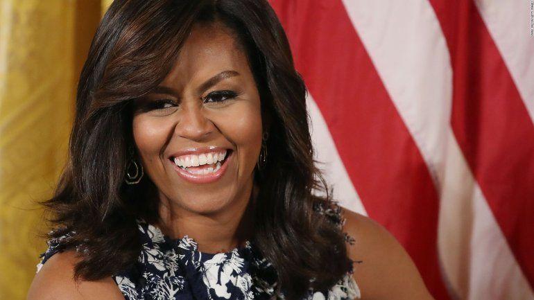 Captan al natural a Michelle Obama