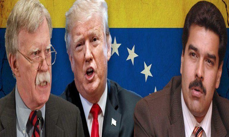 Bolton anuncia bloqueo total al gobierno de Venezuela y sanciones a quienes lo apoyen