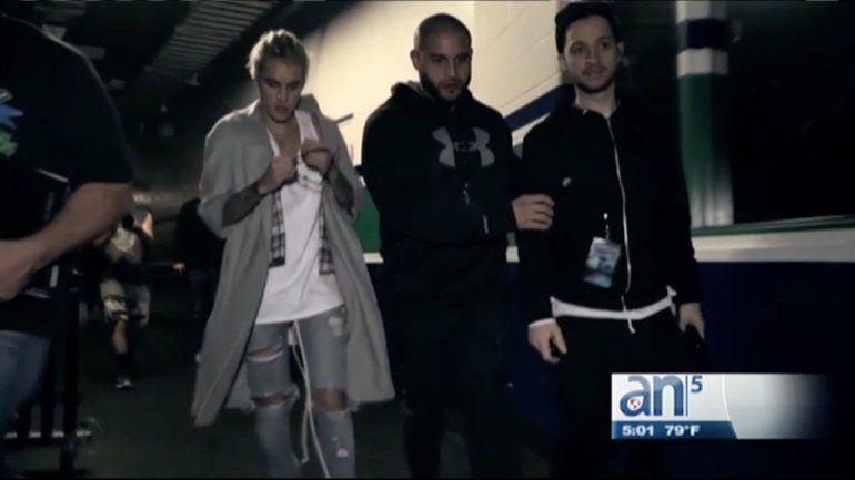 Arrestan en Florida a guardaespaldas de Justin Bieber