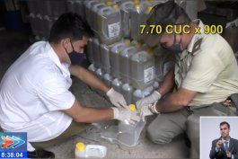 detenidos siete cubanos por el robo de aceite de una empresa estatal de la habana