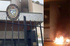 la policia de paris investiga supuesto ataque a la embajada cubana