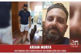 madre de arrestado en cuba dice que el estan fabricando delitos falsos