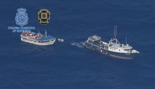 espana y portugal intervienen cuatro toneladas de cocaina en un pesquero venezolano (fotos)