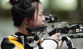 China Yang gana 1er oro en Tokio, en tiro