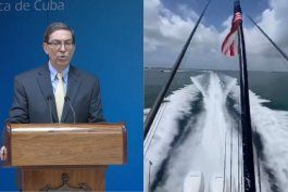 bruno rodriguez amenaza a flotilla de exiliados cubanos que ya estan cerca de cuba