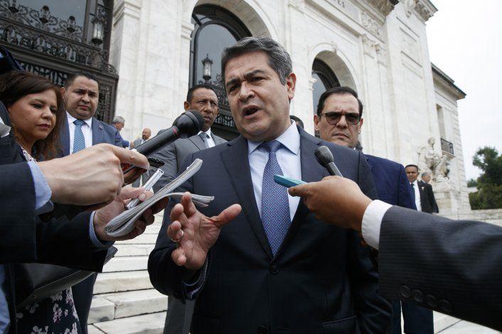 Presidente de Honduras sería blanco de ley propuesta en EEUU