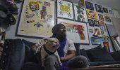 #Pandemia: Pintor solidario compra obras de otros artistas