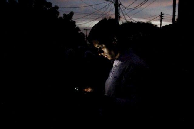 mega apagon rojo dejo sin luz a caracas y varios estados de venezuela.
