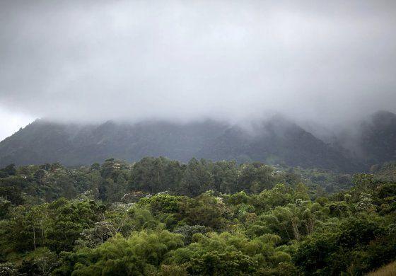 Meteorología registra temperaturas entre los 57 y 61 grados Fahrenheit en la montaña