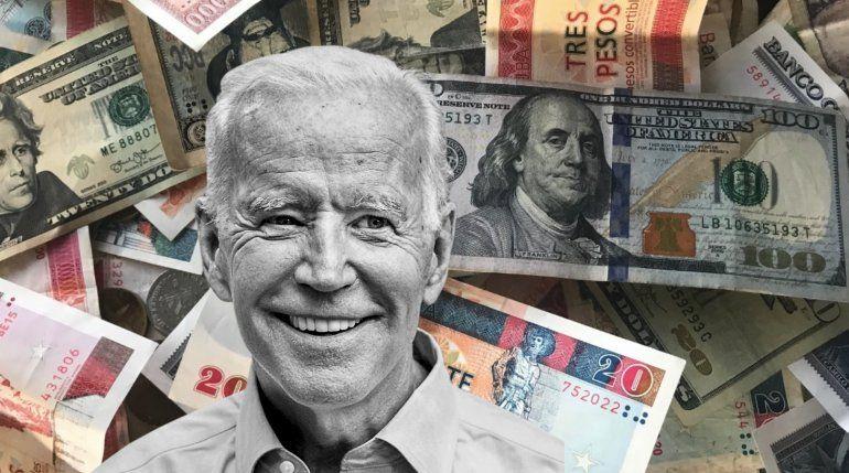 Biden más cerca de tomar una decisión sobre las remesas a Cuba