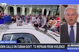 bob menendez: eeuu no va tener una intervencion militar en cuba