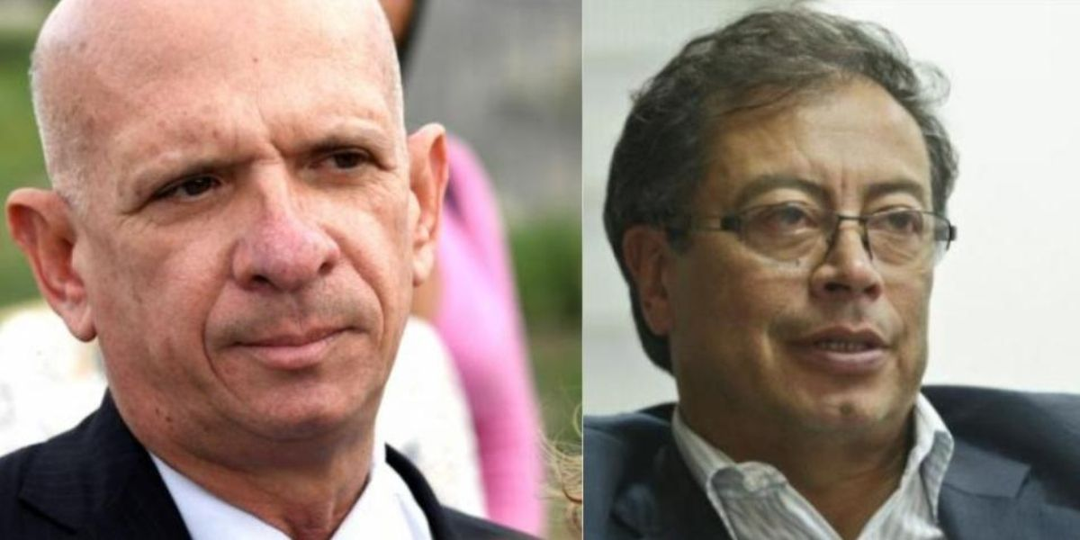 gustavo petro asegura que confrontara a hugo carvajal por acusarlo de recibir financiamiento del chavismo