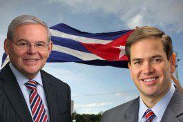 los senadores marco rubio y bob menendez piden al departamento del tesoro perseguir a empresas fantasmas cubanas