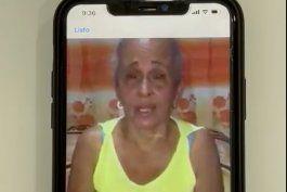 Una madre suplica desde Cuba ayuda para sus hijos detenidos por la dictadura. (Captura de pantalla)