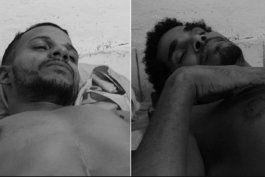luis manuel otero alcantara y maykel osorbo siguen en huelga de hambre por la liberacion de denis solis
