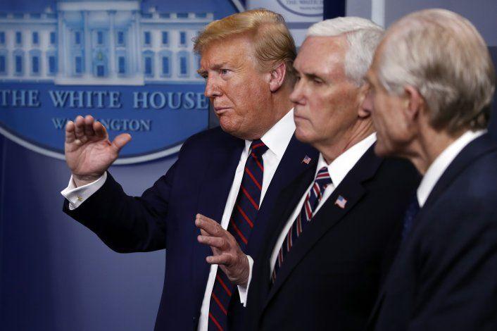 Trump: Falta poco para acuerdo con Congreso sobre nuevo paquete ayuda