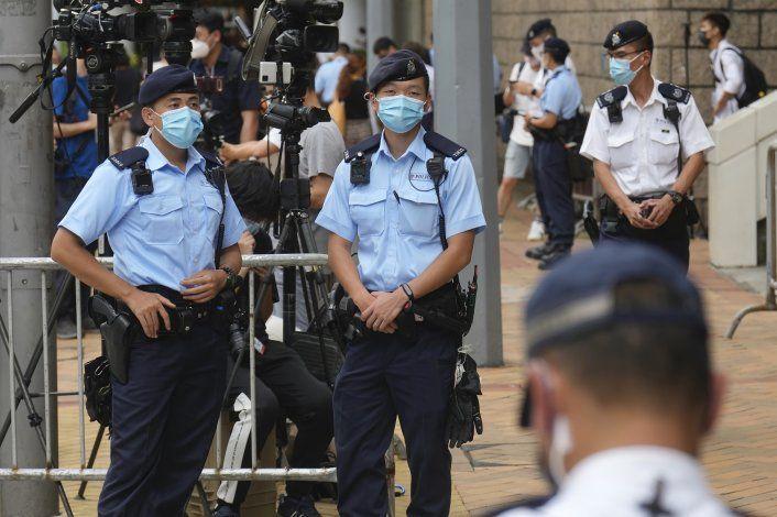 EEUU da refugio temporario a gente que huye de Hong Kong