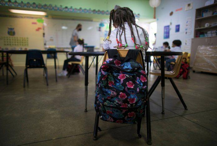 Unos 24,000 estudiantes del sistema público de enseñanza fracasarían el año escolar
