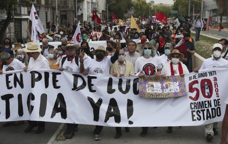 México: Conmemoran 50 años de masacre estudiantil de 1971