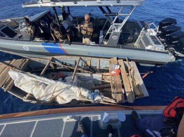 EEUU repatría a ocho balseros cubanos interceptados en aguas de Florida