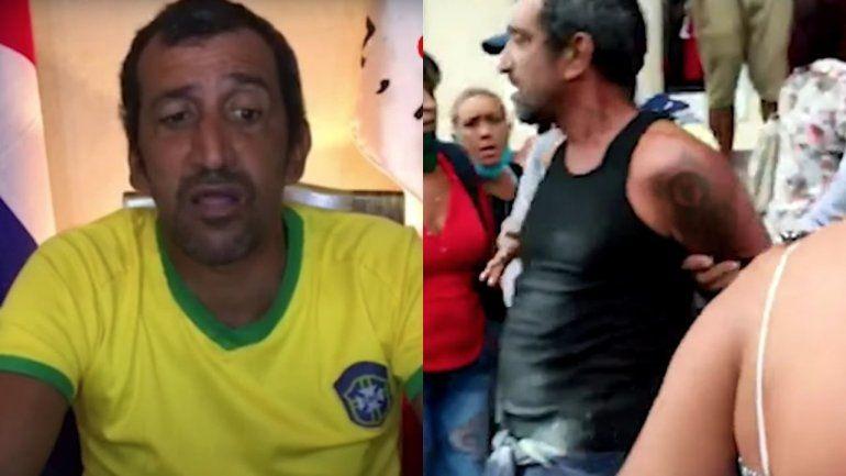 Arresta, golpean y multan a cubano que fue deportado por Estados Unidos cuando protestaba por las colas en la isla