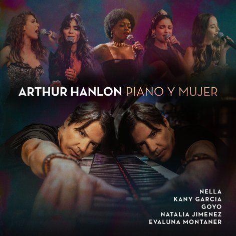 """Arthur Hanlon se rodea de amigas en """"Piano y mujer"""""""
