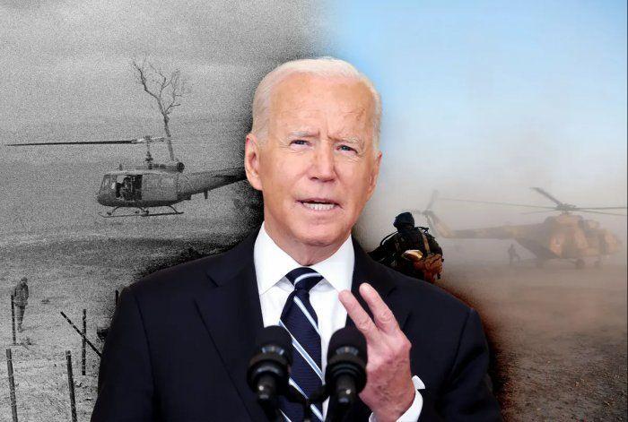 Retiro caótico de Afganistán erosiona apoyo a Biden