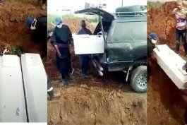 cubanos denuncian que estan enterrando a muertos por covid-19 en fosas comunes