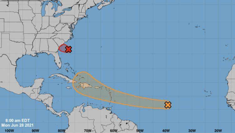 Una onda tropical podría traer lluvias y vientos a la Isla este jueves