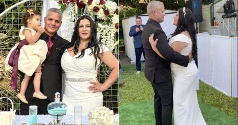 Actor cubano Vladimir Villar se casa  en Miami tras años de relación