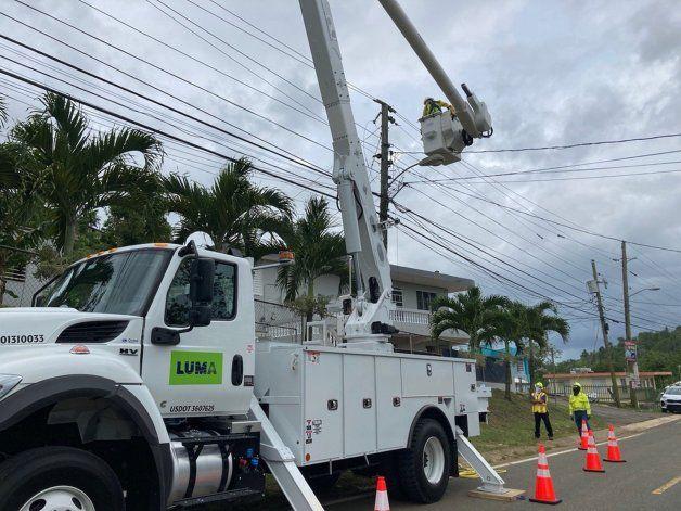 LUMA Energy asegura que hasta esta madrugada unos 2,765 clientes estaban sin luz